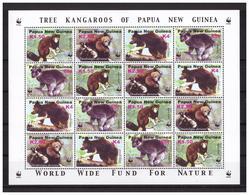 PAPUA NEW GUINEA  2003 Tree Kangaroo WWF M/S MNH - Papua-Neuguinea