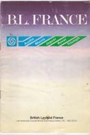 Catalogue - Concessionnaires British Leylands France - Innocenti - Jaguar - Rover - Daimler - Austin ...  1981 - Coches
