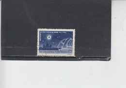 ROMANIA    1961 - Yvert   A 145 - Eclissi - Astrologia - 1948-.... Repubbliche