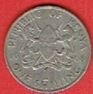KENYA  # 1 SHILLING FROM 1968 - Kenya
