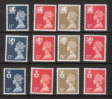 Great Britain Regional Issue 1990 Queen Elizabeth II,  Mi Wales 56-59, Scotland 57-60, North Ireland 56-59, MNH(**) - Wales