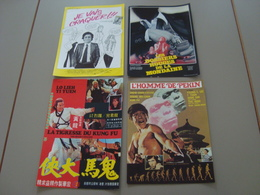 LOT DE 4 AFFICHES A4 CINEMA PUBLICITE - Affiches & Posters