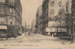 75 PARIS XVIIIe La Rue Duhesme - Arrondissement: 18