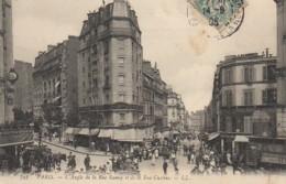 75 PARIS XVIIIe L'Angle De La Rue Ramey Et De La Rue Custine - Distretto: 18