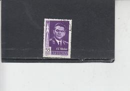 ROMANIA    1962 - Yvert   A 157 - Spazio - 1948-.... Repubbliche