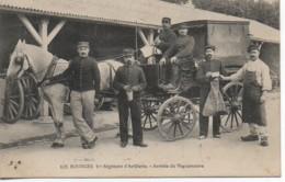 18 BOURGES  1er Régiment D'Artillerie  - Arrivée Du Vaguemestre TOP TOP - Bourges