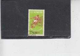 ROMANIA    1962 - Yvert   1829 - Sport - Calcio - 1948-.... Repubbliche
