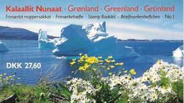 Greenland 1989 Booklet No 1  With Margrethe   - Mi  H Blatt 1-2, MNH(**) - Grönland
