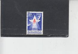 ROMANIA    1963 - Yvert A 173 - Spazio - 1948-.... Repubbliche