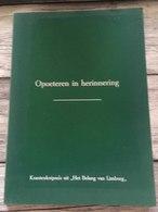 Boek : Opoeteren In Herhinnering - Histoire