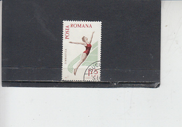 ROMANIA    1965 - Yvert 2172 - Sport - Ginnastica - 1948-.... Repubbliche