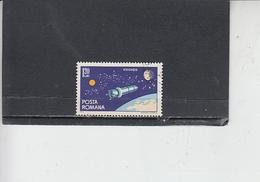 ROMANIA    1965 - Yvert 2096 - Spazio - 1948-.... Repubbliche