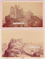 RAR 2 CDV RIGI KULM GRAND HOTEL SCHREIBER Photo XIXe. Thermalisme, Luxury Resort - Anciennes (Av. 1900)