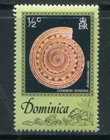 DOMINIQUE- Y&T N°505- Neuf Sans Charnière ** (coquillage) - Dominique (1978-...)