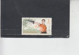 ROMANIA    1965 - Yvert 2129 - Sport - Tiro - 1948-.... Repubbliche