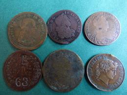 Lot 6 Jetons - Monnaies & Billets