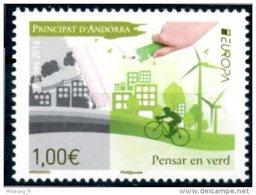 "Europa 2016 ""Think Green"" - Andorre Française ** - Europa-CEPT"