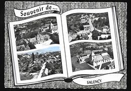 Cpm 03244 Souvenir De Salency , 4 Vues Sur Carte - Frankreich