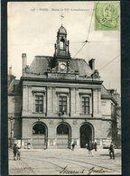 CPA - PARIS - Mairie Du XXè Arrondissement, Animé  (dos Non Divisé) - Arrondissement: 20