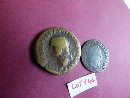 Lot 2 Monnaies - Coins & Banknotes