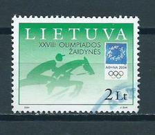 2004 Litouwen Olympic Games Athene Used/gebruikt/oblitere - Litouwen