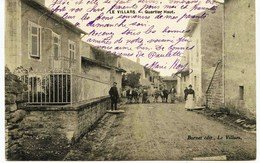 6504 -  Saone Et Loire -  LE VILLARS  :  Quartier Haut ,      Circulée 1910 - Other Municipalities