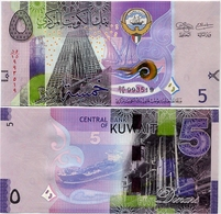KUWAIT       5 Dinars       P-32       ND (2014)       UNC - Kuwait