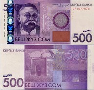 KYRGYZSTAN       500 Som       P-New       2016       UNC - Kirghizistan