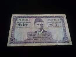 Pakista 5 Rupees 1966 - Pakistan