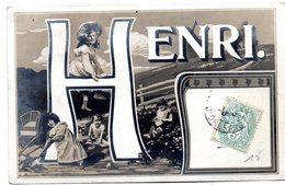 Tarjeta Postal  Circulada Henri. - Francia