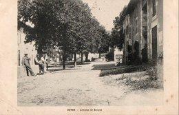 ROVON - Avenue De Beigne (vue Animée) - Autres Communes