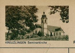 Carte Illustré Neuve N° 182 - 0190 D  - KREUZLINGEN Seminakirche   (Zumstein 2009) - Entiers Postaux