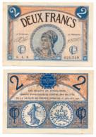 1914-1918 // C.D.C. // PARIS // 10 Mars 1920 // 2 Francs // Sans Filigrane - Chambre De Commerce
