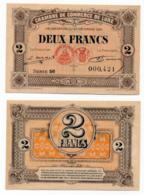 1914-1918 // C.D.C. // LURE // 23 Décembre 1920 // 2 Francs // Sans Filigrane - Chambre De Commerce