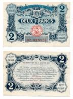 1914-1918 // C.D.C. // ANGOULEME // 14 Janvier 1920 // 2 Francs // Filigrane Abeilles - Chambre De Commerce
