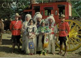 CPM Canada, Police Montée Et Indiens Canadiens - Canada