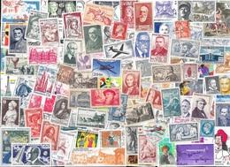 T VRAC - France, 1800 Timbres TOUS DIFFÉRENTS - Stamps
