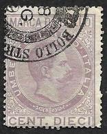 ITALIE 1882  - Fiscal - 10 Cent. - Humbert 1° - Steuermarken