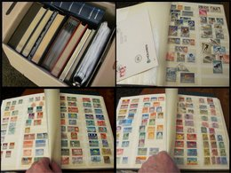Lot With Worldstamps In Albums In Mixed Condition Not All Pictures Are Shown - Timbres