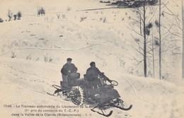 Hautes-Alpes - Le Traineau-automobile Du Lieutenant De La Besse (1er Pris Du Concours Du T. C. F.) - Otros Municipios