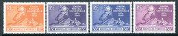 Nouvelles Hebrides 1949 75th Anniversary Of UPU Set HM (SG F77-F80) - French Legend