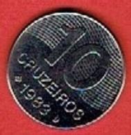 BRAZIL  # 10 Cruzeiro FROM 1983 - Brésil