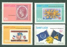St Lucia: 1981   First Anniv Of U.P.U. Membership   MNH - St.Lucia (1979-...)