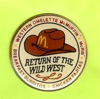 Pin Mac Do McDonald's McBoo Return To Wild West Chapeau - 5H23 - McDonald's