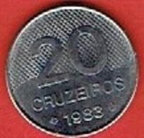 BRAZIL  # 20 Cruzeiro FROM 1983 - Brésil