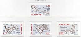 PIA -  DANIMARCA  -  1995  : Isole Danesi -  (Yv  1099-1102) - Vacances & Tourisme