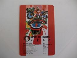 Bank Banque Banco Do Oriente Macau Macao China Pocket Calendar 1986 - Calendriers