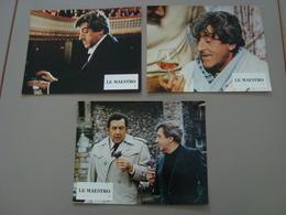LOT DE 3 AFFICHES A4 CINEMA PUBLICITE LA MAESTRO - Affiches & Posters