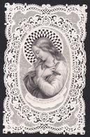 BEAU CANIVET SAINTE MADELEINE TBE. 1870. BOUASSE LEBEL Santino Holy Card - Religion & Esotérisme