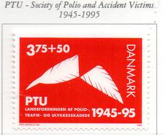 PIA - DANIMARCA -1995 : 50° Del PTU - Associazione Dei Poliomielitici E Delle Vittime Di Incidenti    - (Yv 1110) - Danimarca